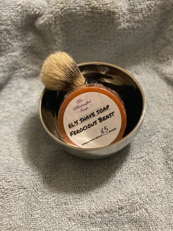 Picture of Shave Soap: Ferocious Beast