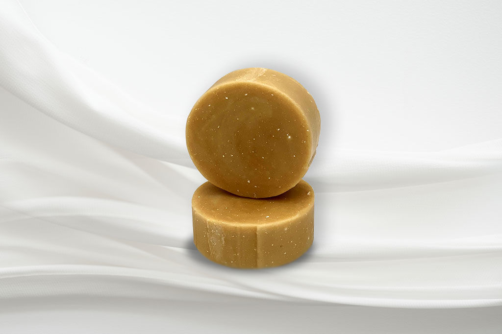 Picture of Yogurt: Brown Cucumber Round Face Soap